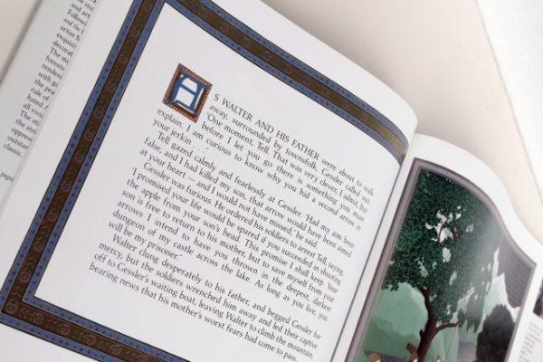 英語の本を開く